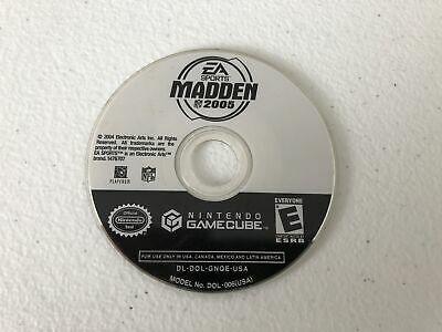 Madden 2005 - Nintendo Gamecube - Cleaned & Tested