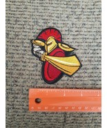 Spartan Warrior Silhouette Sew or Iron on Patch NEW Medieval Warrior Sword - $13.23