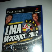 LMA Manager 2003 - PlayStation 2 (PS2) Game (A3) - $7.61