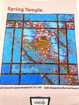 ART QUILT PATTERN MARINDA STEWART MICHAEL MILLER FABRICS NY Spring Templ... - $4.94