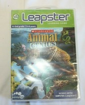 LeapFrog Leapster Animal Genius Scholastic Learning K-2nd grade 5-8 years NiB - $14.03