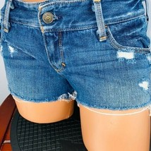 A&F Abercrombie & Fitch Flap Pocketed jean Shorts 2 W 26 - $29.69