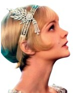 Fashion The Great Gatsby Hair Accessories Crystal Pearl Tassels Hair Hoo... - $18.64
