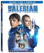 Valerian and the City of A Thousand Planet (Blu-ray + DVD) - $8.96