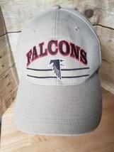 Vintage Atlanta Falcons Nfl Logo Athletic Strapback Hat Ball Cap - $23.22