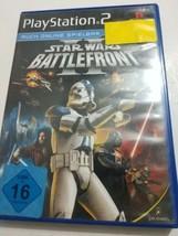 Star Wars: Battlefront 2 [PlayStation 2] PS2 No Manual Black Label Deutsche PAL - $14.80
