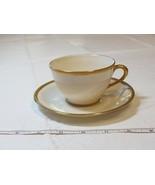 Lenox 943/5.33. Off White Gold Trim tea Cup & Saucer tea coffee - $21.36