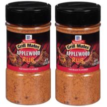McCormick Grill Mates Applewood Rub 9.25 oz Pack of 2 BRAND NEW - $10.35