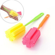 For Kitchen, 1 pcs Sponge Brush Cleaning Bottle Glass Cup - $5.99+