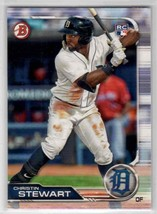 2019 Bowman Christin Stewart RC #33 Detroit Tigers - $0.89