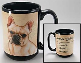 French Bulldog Dog My Faithful Friend 15 Ounce Mug Cup Gift - $18.95