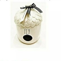 "Rae Dunn by Magenta L/L ""Fly"" Ceramic Acorn Birdhouse HTF Rare 2020 Coll... - $69.30"