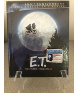 E.T.:THE EXTRA-TERRESTRIAL-UNIVERSAL 30TH ANN. BLURAY/DVD COVERBOOK-NEW/... - $31.11