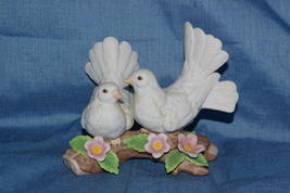 Homco Courtship Doves Figuine 1453 RARE Home Interiors - $12.99