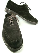 ET Wright Mens Brown Suede Oxford Lace Up Shoes Size US 13 EE   Made In ... - $47.53
