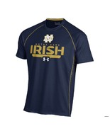 Notre Dame Fighting Irish Under Armour Heat Gear Limitless Loose Fit L T... - $34.00
