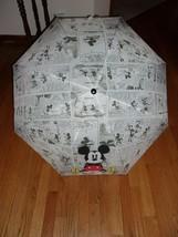 Hallmark Disney Mickey Mouse Umbrella W/Storage Sleeve New W/T - $22.99