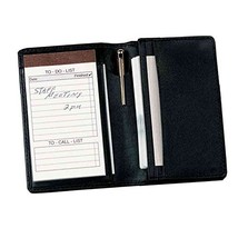 Royce Leather Deluxe Note Jotter Organizer,Black,One Size - $66.21