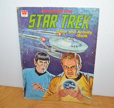 Vintage STAR TREK COLORING BOOK Whitman 1979 Used Sci-Fi Retro - $12.03
