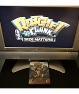 Ratchet & Clank Size Matters (Black Label) Sony Playstation 2 PS2 Game C... - $14.20