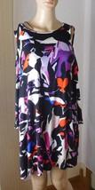 Dana Buchman Women's Top Size M Open Shoulder 3/4 Sleeves - Art Deco NWT... - $19.86