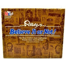 Vintage 1984 Milton Bradley Ripley's Believe It or Not Trivia Game 100% Complete