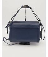 Nuova con Etichetta Marc By Jacobs Blu Prism 34 pelle a Tracolla Borsa S... - $347.99