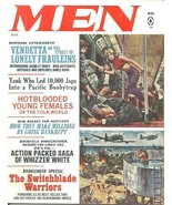 "MEN March 1966 - GIL COHEN, AL ROSSI, CHARLES COPELAND, BYRON ""WHIZZER"" ... - $15.99"