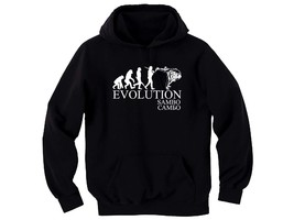 Sambo evolution самбо self defence without weapon martial arts black hoodie - $18.99