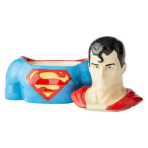 "10.5"" High DC Comic Superman Cookie Jar Stoneware image 2"