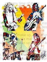 "Led Zeppelin, Plant, Page, Jones, Bonham, Hard Rock, Music, 18""x24"" Art ... - $19.99"
