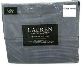 Ralph Lauren 100% Cotton Blue Mist Full Sheet Set - $79.19