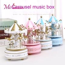 Merry-Go-Round Music Box Decor Carousel horse Christmas Birthday Gift Toys - $13.99