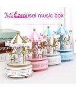 Merry-Go-Round Music Box Decor Carousel horse Christmas Birthday Gift Toys - £11.23 GBP