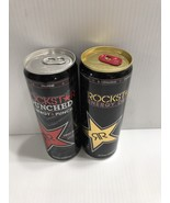 Rockstar Energy Drink 12oz Original & Fruit Punch Full Collectors Can - $19.99