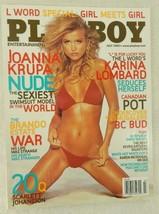 PLAYBOY MAGAZINE ~JOANNA KRUPA~ 'JULY 2005' BACK ISSUE - 164 PAGES - $4.99