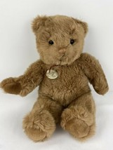 "Vintage Gund Bear Collectors Classic 1986 Brown 15"" Tall Smoke Free Gold Tag - $29.69"