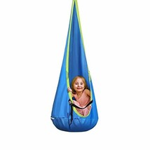 INTEY Kids Pod Swing Seat Child Hanging Hammock Chair for Outdoor and In... - $35.03