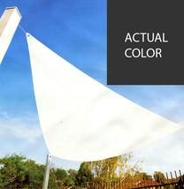 Kaemingk 11.75' Dark Gray Triangular Outdoor Patio Sun Shade Tarp - $44.29
