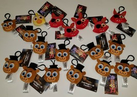 NWT 18 Five Nights At Freddy's Plush Keychain Lot Funko Backpack Clip Ch... - $49.45