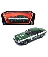 1975 Jaguar XJS Coupe Racing Green #1 1/18 Diecast Model Car by Road Sig... - $58.86
