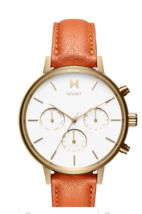 MVMT Nova Umbra 38MM Women's Gold Analog Watch Chronograph FC01-GOR - $104.95