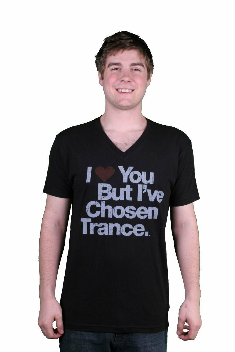 I Love You But I've Chosen Trance Black V-Neck