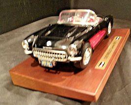 1957 Chevrolet Corvette Burago Die-cast AA-191741 Vintage Collectible image 12