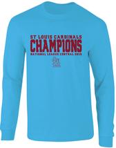 Cardinals 2019 NL Central Division Champions Long Sleeve T-Shirt - $25.99+