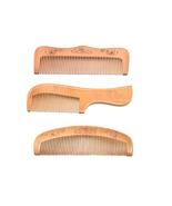 Natural Handmade Eco-friendly wooden comb(set of 3). Wooden comb for men... - $27.99