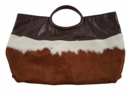 Leather Suede Cowhide Handcrafted Lot - Belt Handbag Bag Purse Clutch Stocking image 4