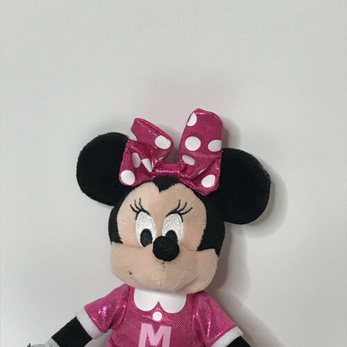 "Ty Sparkle Minnie Cheerleader Disney Beanie Plush Stuffed Animal 9"" Tall image 2"