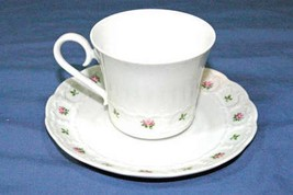 Franconia Pirouette Cup And Saucer Set - $10.79
