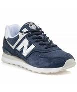 New Balance Men's 574 SPZ Shoes NEW AUTHENTIC Navy/White ML574SPZ - $74.99